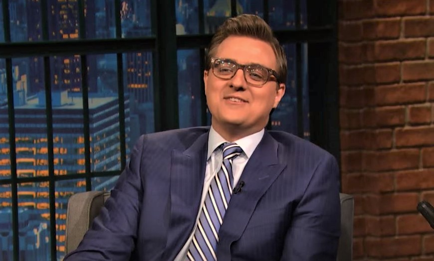 Chris Hayes Married Wife Children Salary Net Worth