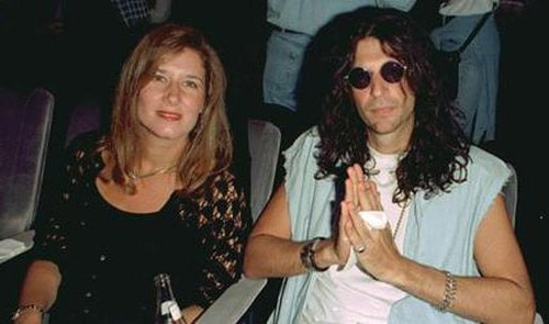 Alison Berns and husband Howard Stern