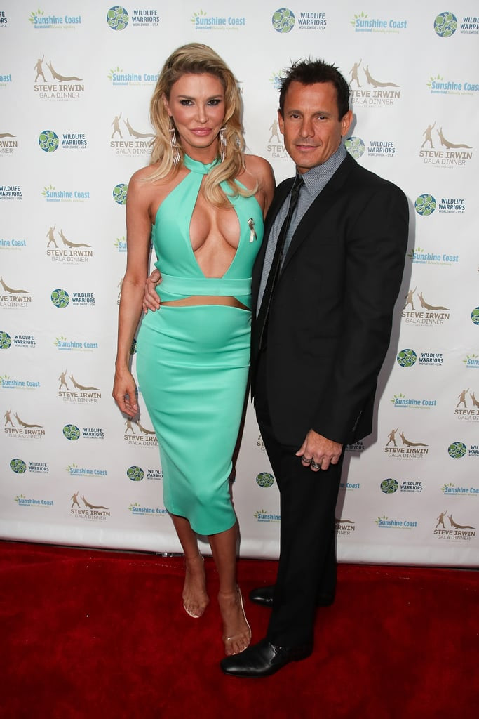Brandi Glanville with ex-boyfriend Donald Friese