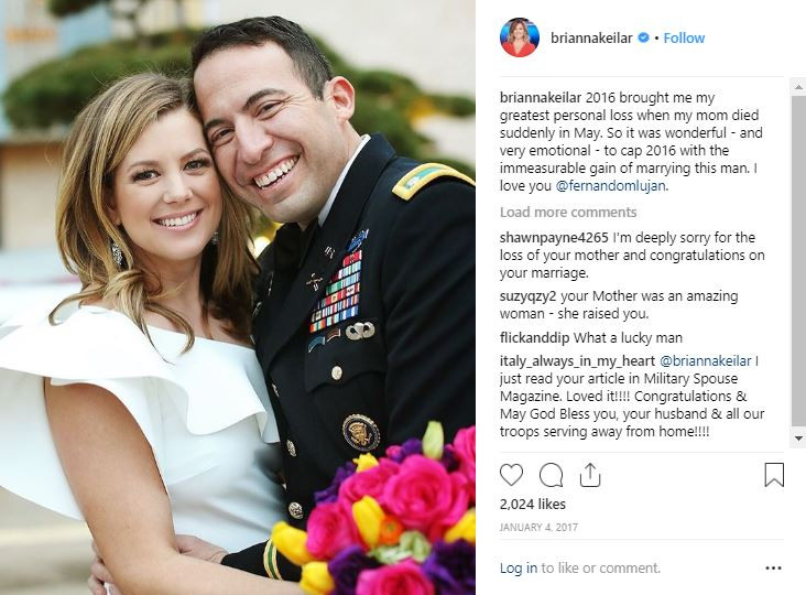 Brianna Keilar and husband Fernando Lujan