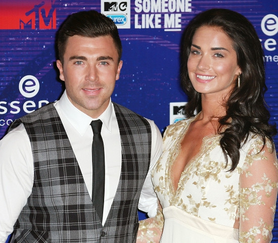 James Tindale and ex-girlfriend Kate Thorne