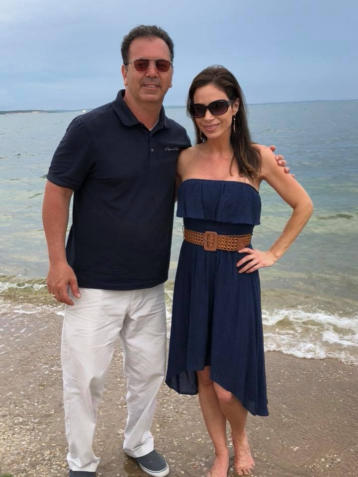 Jill Nicolini and possible husband Peter Khachaudurian