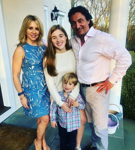 Kirstin Cole family with husband