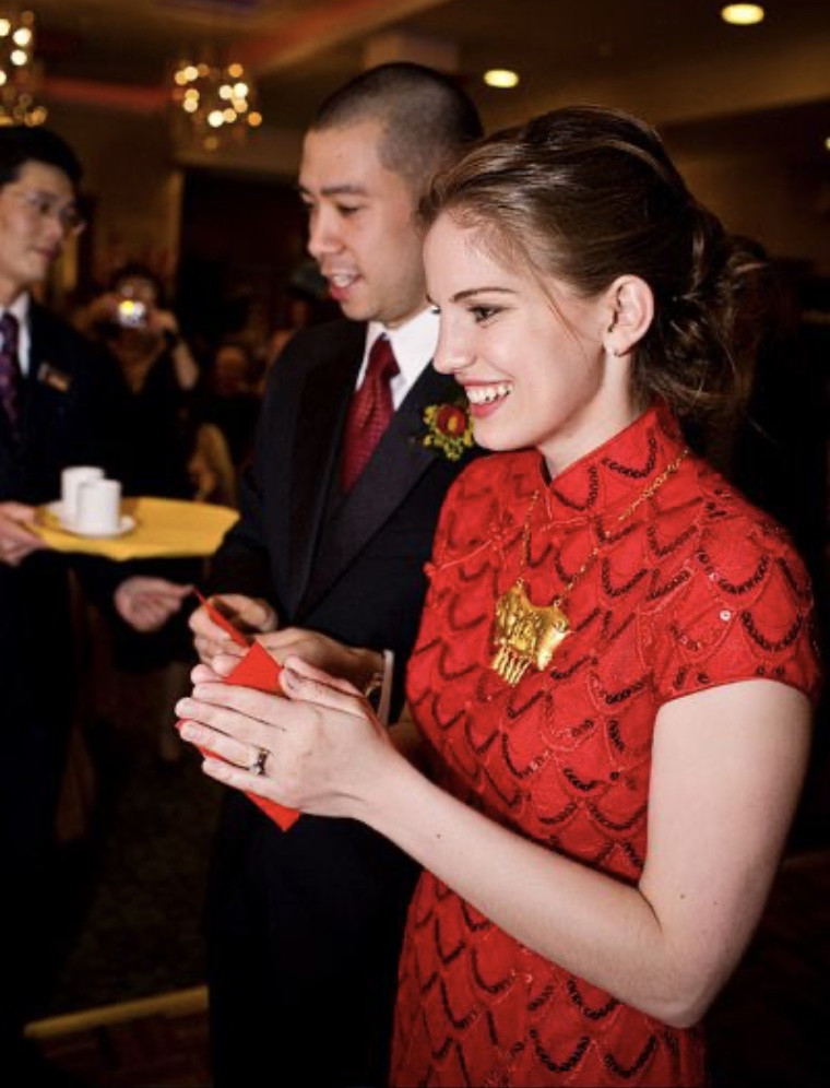 Shaun So and Anna Chlumsky's Chinese tradition ceremony