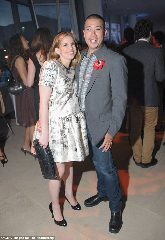 Shaun So and wife Anna Chlumsky