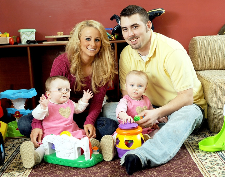 Leah Messer and ex-husband Cory Simms